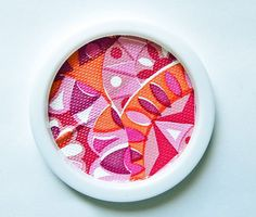 PInk Retro Party Coasters by ultralounge on Etsy, $21.00