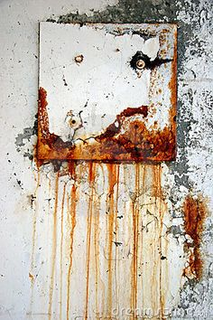 #Rusty on the wall