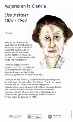 Lise Meitner, Max Planck, Facts About People, Womens Month, Philosophy Of Science, Curious Facts, Grammar Book, New Fantasy, Marie Curie