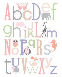 Free nursery printable