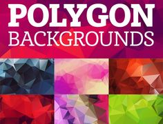 In this roundup we are presenting some Wonderful Free Polygon Background Packs. These high-quality backgrounds can be very well used to design a website template, business card, flyer,