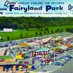 "Fairyland! Where my mom & I recorded ""I've been working on the railroad"" in a recording booth when I was about 3!"