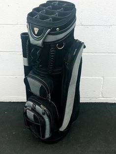 Affinity 13 Way Locator CART Golf Bag~VERY G COND~LIGHTWEIGHT~COOLER POCKET~PGA #Affinity #Modern