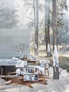 "set for Ikea, collection ... ""chalet 2013"""