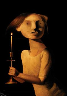 Dave McKean  illustration for Coraline