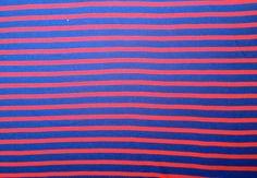 Bio-Interlock (GOTS),Blau,Rot,100%Baumwolle von internaht - Stoffwerkstatt auf DaWanda.com