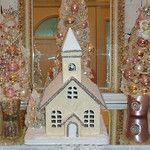 Cream Glittered Church  by The Illusive Swan