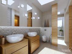Priestranná kúpeľňa je ideálnym riešením pre domáci wellness… Viac náhľadov tejto vizualizácie na: Kupelnovy-manual.sk
