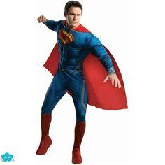 Disfraz de Superman Hombre de acero para hombre