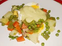 Cinco sentidos na cozinha: Salada russa com atum e creme de abacate