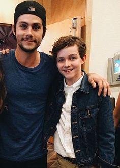Levi met Dylan O'Brien!