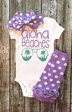 A personal favorite from my Etsy shop https://www.etsy.com/listing/469408247/baby-girl-bodysuit-aloha-beaches