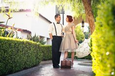 vintage couple photo shoot by Stephan Arias