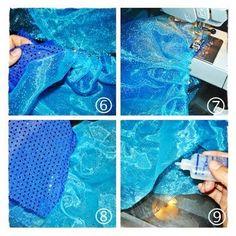 Marisa Hopkins: Living the Creative Life: Make It: Sparkly Mermaid Tail Tutorial