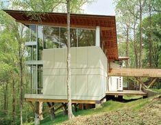 Strickland-Ferris House by Frank Harmon : TreeHugger