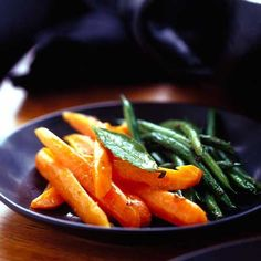 Carrots with cumin and orange
