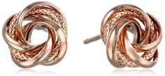 14k Rose Gold Love Knot Stud Earrings Amazon Collection http://www.amazon.com/dp/B00JQG2BRO/ref=cm_sw_r_pi_dp_ssTlwb0W6F5S5