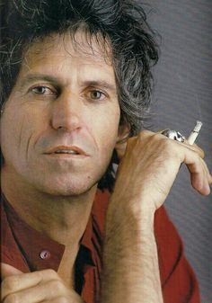 Great shot of Keef