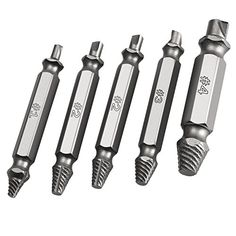 Gyros 80 high speed steel wire gauge drill bit set of 2 high stripped screw removers easily remove stripped damaged screws broken bolt remover kit with precsion high speed steels 62 63hrc hardness set of 5 greentooth Choice Image