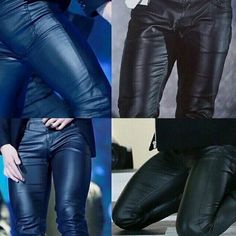 still don't know how those leather pants never ripped off? I mean look at his THIGH muscles Jungkook Thighs, Jimin Jungkook, Btob, Bts Gifs, Bts Summer Package, Ripped Body, Leder Outfits, Thigh Muscles, Bts Pictures