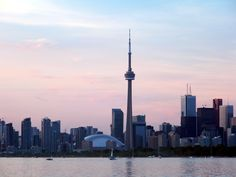 Toronto from the water Thought of you Shelby!