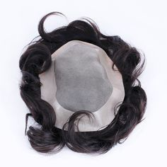 Hair Replacement system: What exactly it is? New Hair, Your Hair, Men's Hair, Mens Toupee, Hair System, Hair Loss, Cool Hairstyles, Wigs, Mens Fashion