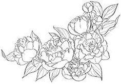 New Vintage Flowers Tattoo Collar Bone 40 Ideas - Tattoos Peony Flower Tattoos, Flower Tattoo Drawings, Peonies Tattoo, Vintage Blume Tattoo, Vintage Flower Tattoo, Vintage Flowers, Tattoo Vintage, Pink Flowers, Peony Drawing