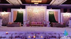 Pasting Stage – SLN Flower Decoration wedding stage Pasting Stage Best Picture For wedding decorations purple For Your Taste You are looking for something, and it is going to tell you exactly Reception Stage Decor, Wedding Backdrop Design, Desi Wedding Decor, Wedding Stage Design, Wedding Hall Decorations, Wedding Reception Backdrop, Backdrop Decorations, Flower Decorations, Marriage Hall Decoration