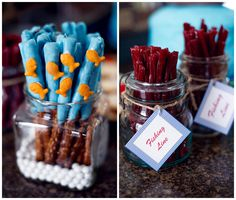This Creative Nautical Birthday Party is full of amazing details that any kid will love!