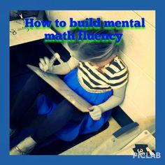 Building mental math fluency!