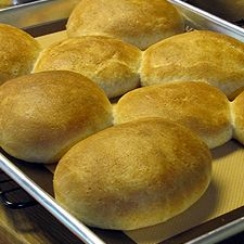 Homemade Whole Wheat Buns from the Bread Machine for OAMC Breakfast Sandwiches