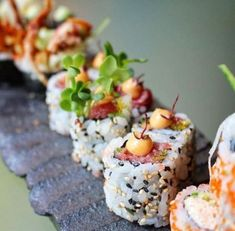 Tag someone who would love this Spicy Tuna Maki  Follow me for more sushi Make Sushi & go to buff.ly/2zveiDx for more recipes!  Pic via @zumalondonofficial Make Sushi http://ift.tt/2Bgr6L1