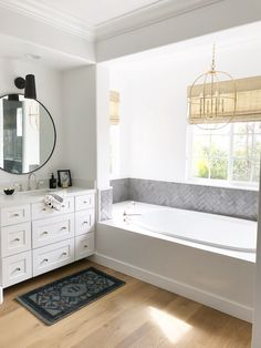 One of the best and quickest ways to update your homes for 2018 is with new statement lighting. It's amazing the affect new lights will have in a space. Specifically, pendant lights are one of my go to choices. I love to use a pretty pendant in a bathroom above a tub, a pair of …