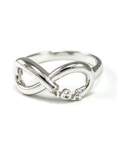 Lambda Theta Alpha Sterling Silver Infinity by CollegiateStandard