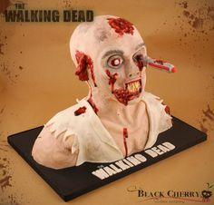 Walking Dead cake from Black Cherry Cake Company