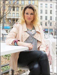 Sophie la Modeuse en interview, Mag.Lyonresto.com