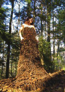 Pinecone Dress created by Robin Barcus Slonina