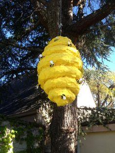 Bee Hive Pinata by SmashingFunCreations on Etsy