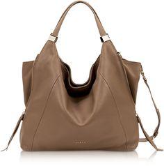 Furla Liz Daino Leather Hobo Bag