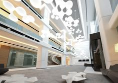 Avrasya Hospital designed by Zoom TPU via Architizer