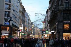 View from Staphansplatz to Kärtnerstrasse, Vienna 1010