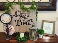 Once Upon A Time vintage storybook baby shower