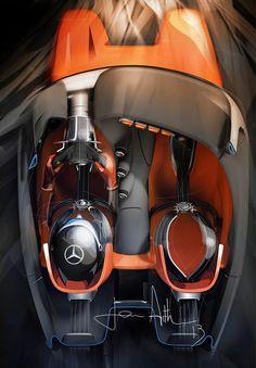 Mercedes-Benz Vision AMG GT sketch (2013)