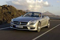 Mercedes Benz SL63 AMG.