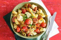 04 April - Macaroni  + kruidenkaas + pittige chorizo in de bonus = een spaans/italiaanse deal op de dinsdag.-