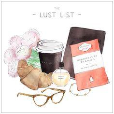 The Lust List by Sally Spratt