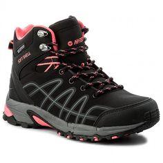 Trekkingschuhe HI-TEC - Kangri Low Wp Wo's AVSAW17-HT-01 Black/Shiny Pink l8cmjE
