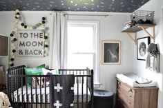 Get inspired by Modern Rustic Nursery Design photo by Nesting with Grace. Wayfair lets you find the designer products in the photo and get ideas from thousands of other Modern Rustic Nursery Design photos. Safari Nursery, Nursery Room, Kids Bedroom, Bedroom Ideas, Baby Boy Rooms, Baby Boy Nurseries, Kids Rooms, Decorate First Home, Jenny Lind Crib