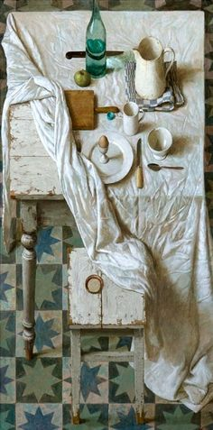 Modern Dutch master: Kenne Gregoire    the art room plant