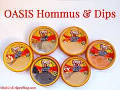 Oasis Hommus on Foods of the Moment: Sauces, Spreads, and Snacks from HealthyHelperBlog.com  #food #health #wellness #productreview #healthyliving #healthyfood #healthyproducts #reviews #healthyliving